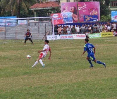 जेसीज विकास रनिङ शिल्ड फुटवलः सडन डेथमा एपीएफ विजयी